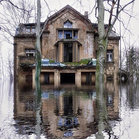 "Abandoned Places on Instagram: ""Flooded."