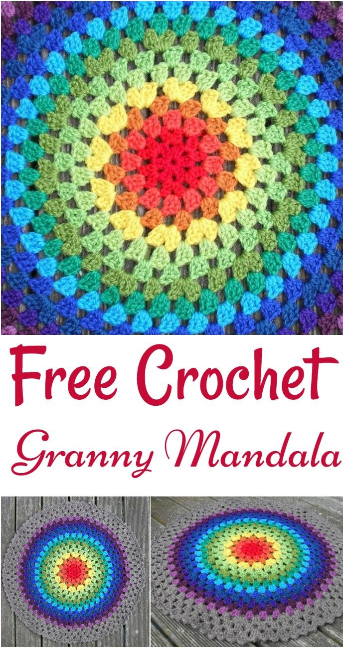 Free Crochet Mandala Patterns – All Free Patterns #crochetmandalapattern
