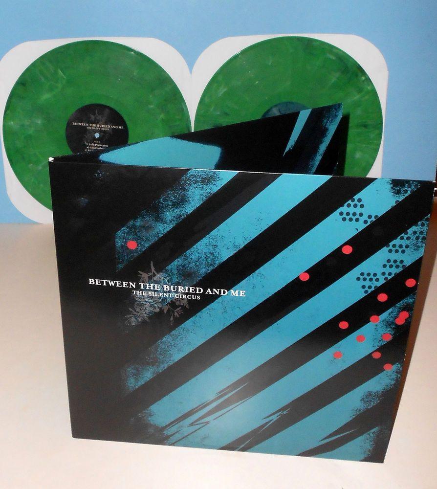 Between The Buried And Me Silent Circus Dbl Lp Record Green Marbled Vinyl Powerprogressivemetal Album Cover Design Vinyl Album Covers