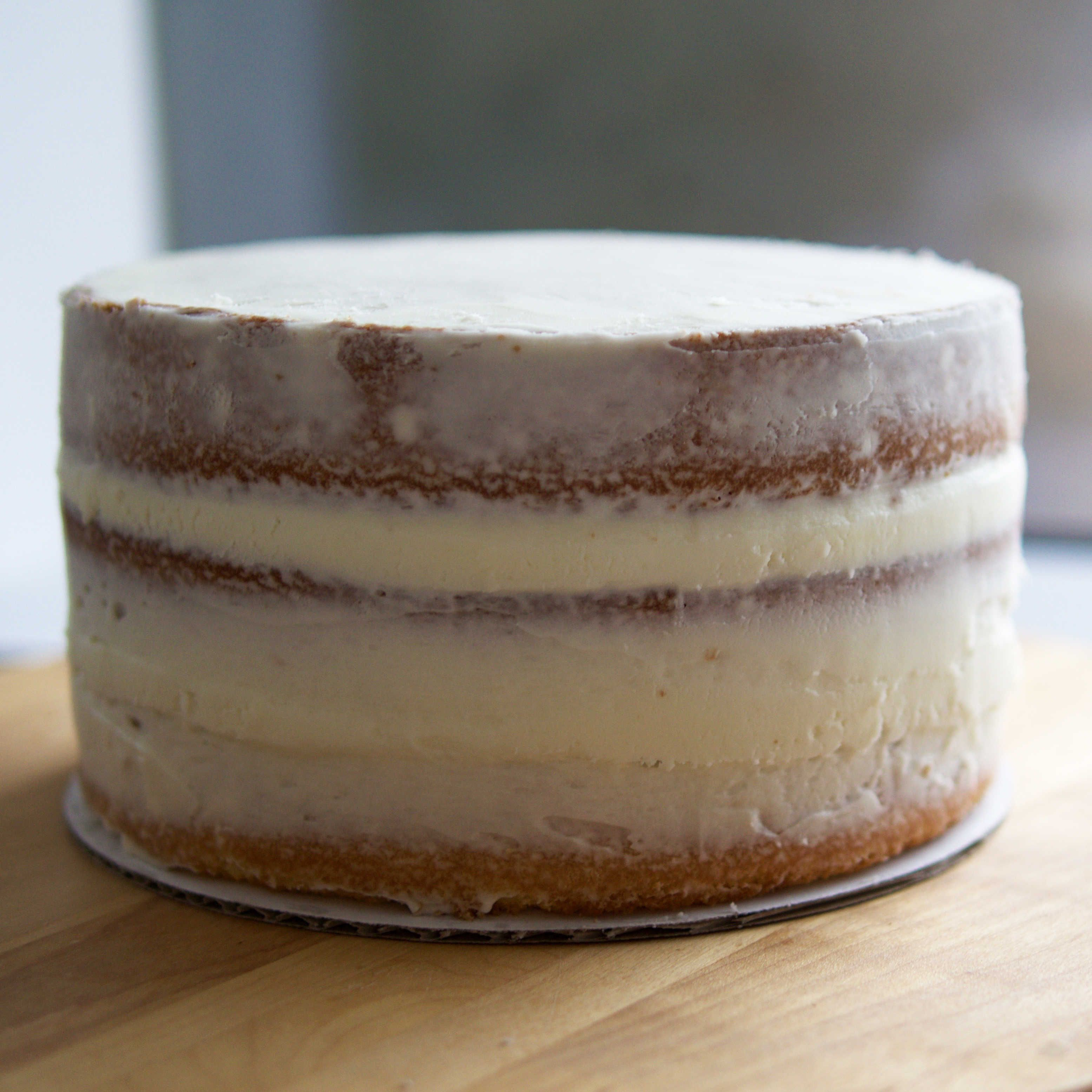 check out basic naked cake. it's so easy to make! | cake, recipes
