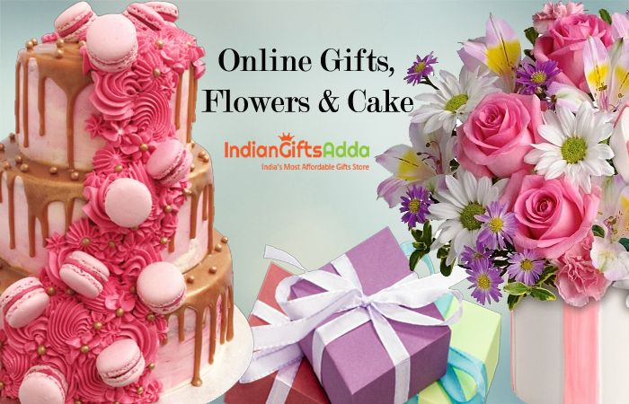 Want To Send Online Gifts Fresh Flower Yummy Cake To Your Loved