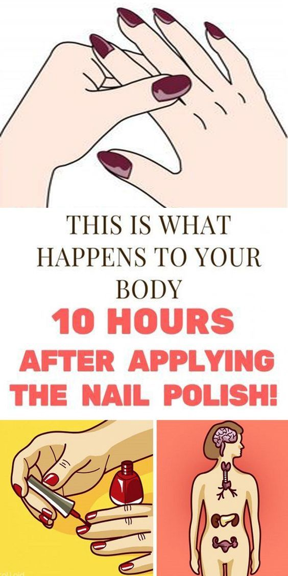 This is What Happens To Your Body 10 Hours After Applying The Nail Polish!  #lifestyle  #beautyhacks