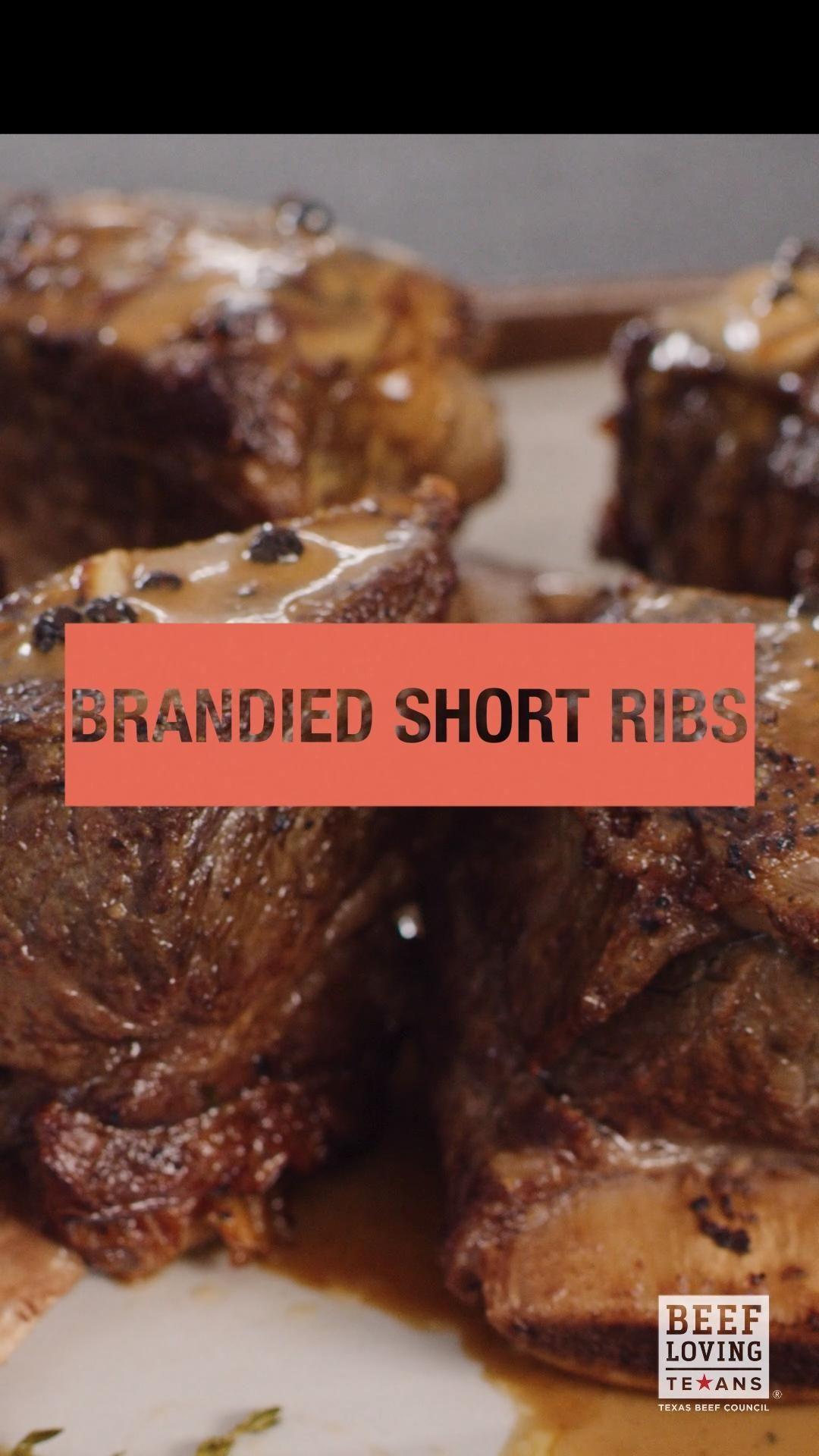 Chef Eddie Jackson S Brandied Short Ribs Video Recipe Video In 2021 Recipes Short Ribs Cooking Recipes