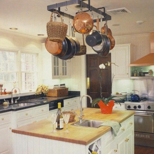 Premier low ceiling rectangle pot rack brown pot rack ceilings and beams