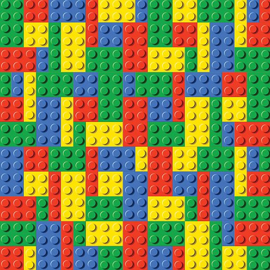 Reminisce - 12 x 12 Paper - Building Blocks | Scrapbook