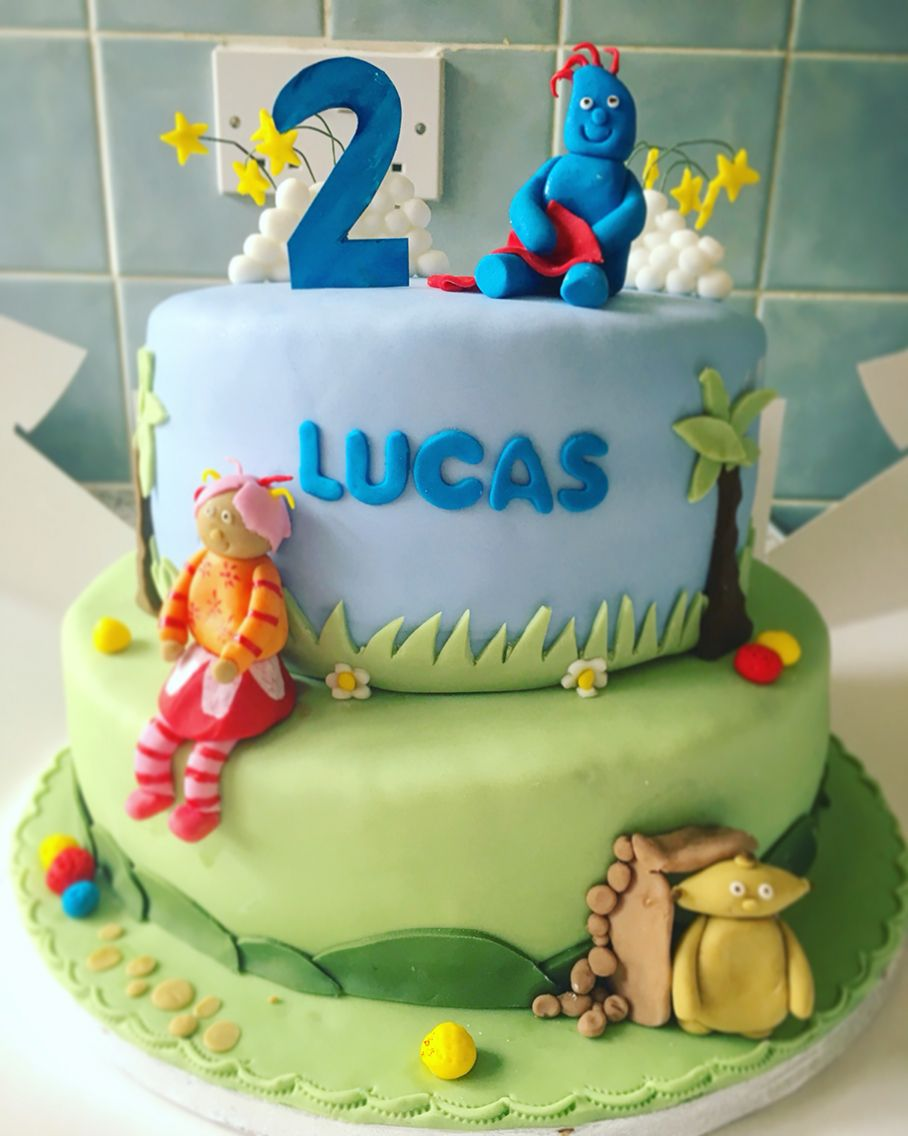 In the night garden cake boys 2 year old party cake iggle piggle ...