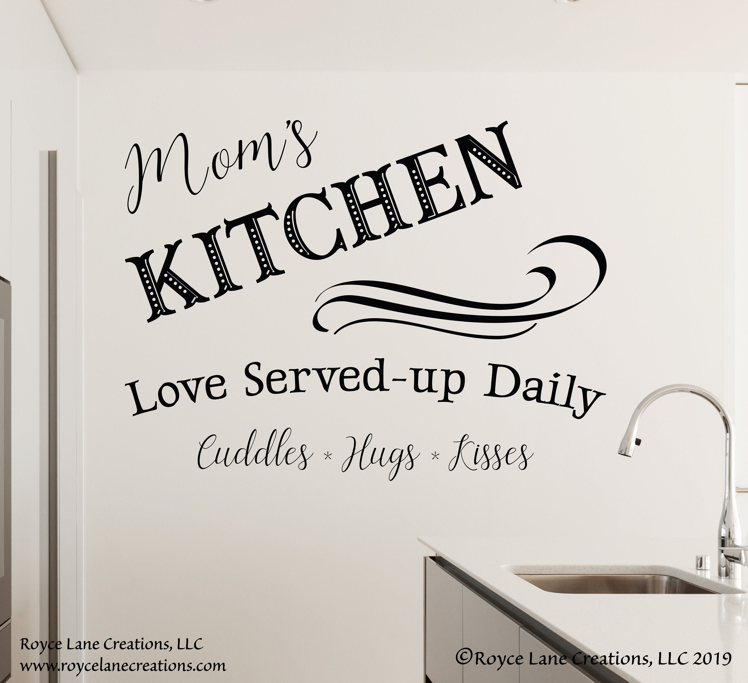 Kitchen Quote Decal Mom S Kitchen Sign Kitchen Sayings Decal