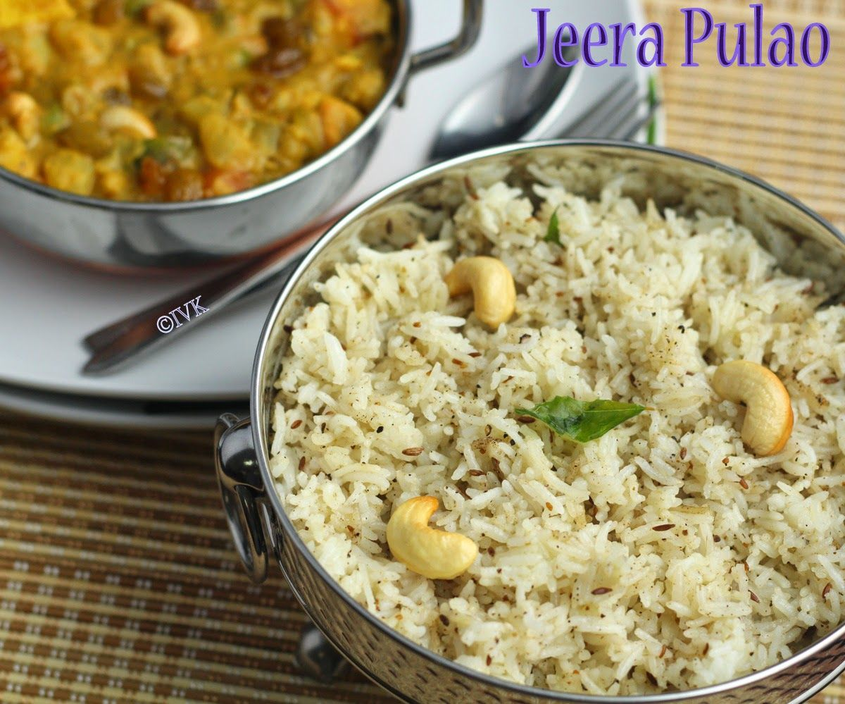 Jeera Pulao | Jeera Rice Rice | Under 30mins Recipe
