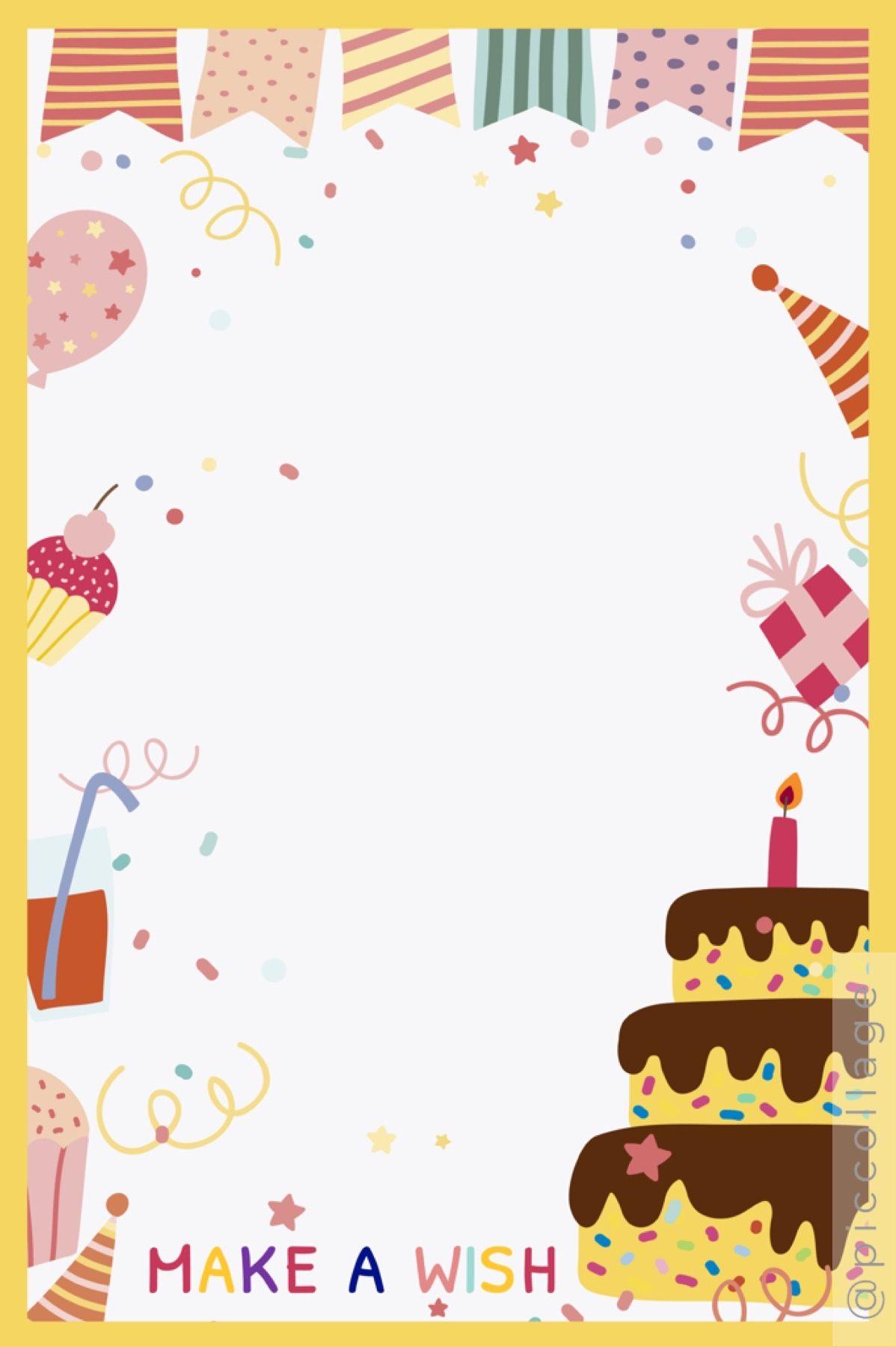 Free Digital Birthday Card Diy Birthday Card In 2021 Birthday Card Template Digital Birthday Cards Birthday Cards