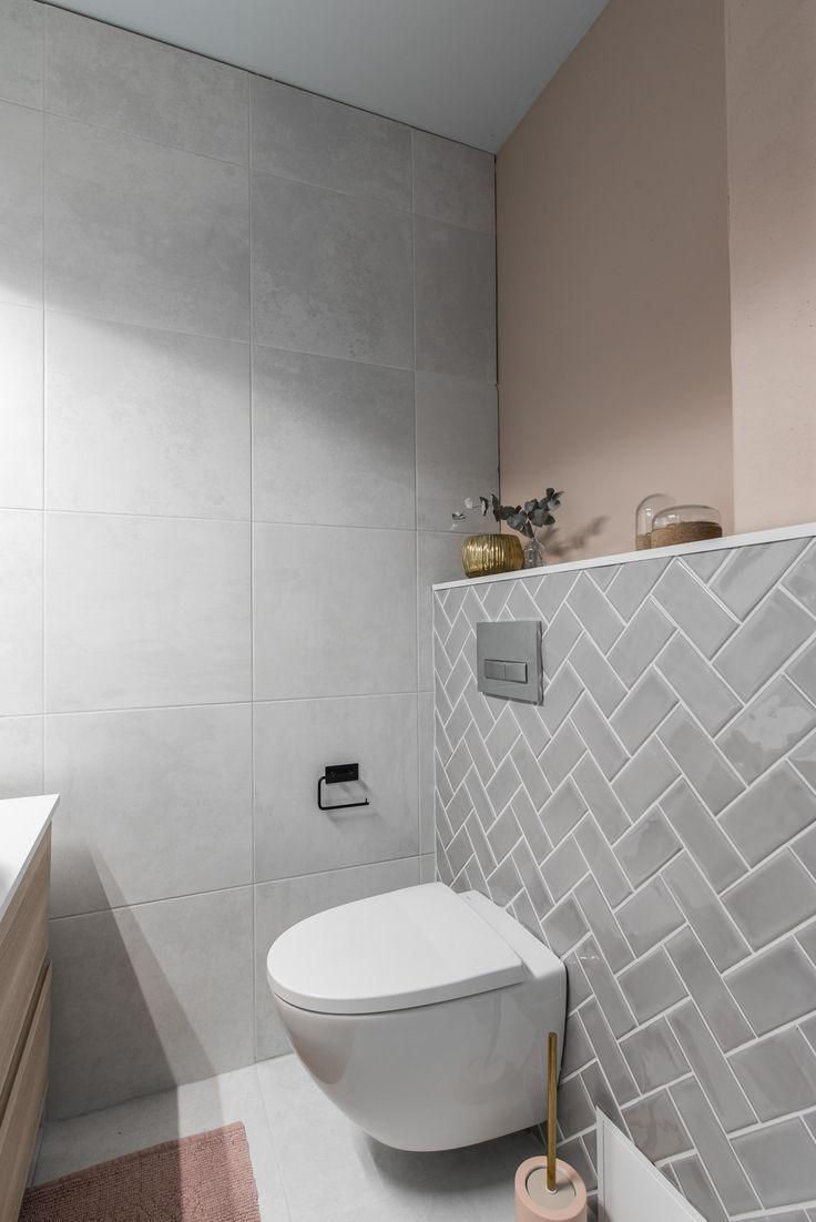 Große Renovierung eines kleinen Badezimmers