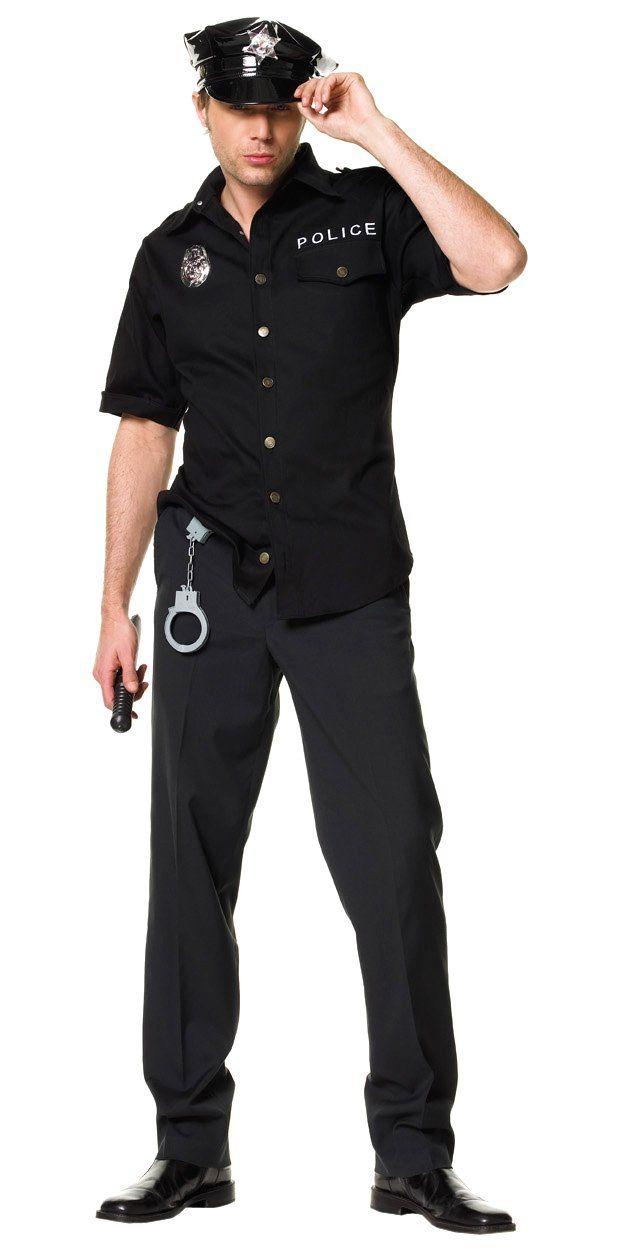 Leg Avenue Menu0027s Policeman Costume Black Medium / Large  sc 1 st  Pinterest & Leg Avenue Menu0027s Policeman Costume Black Medium / Large ...