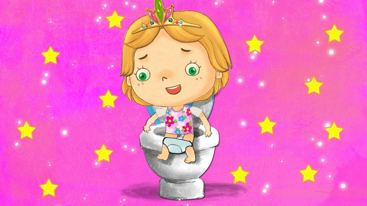 Princess Potty Training Early Childhood Activities Worksheets