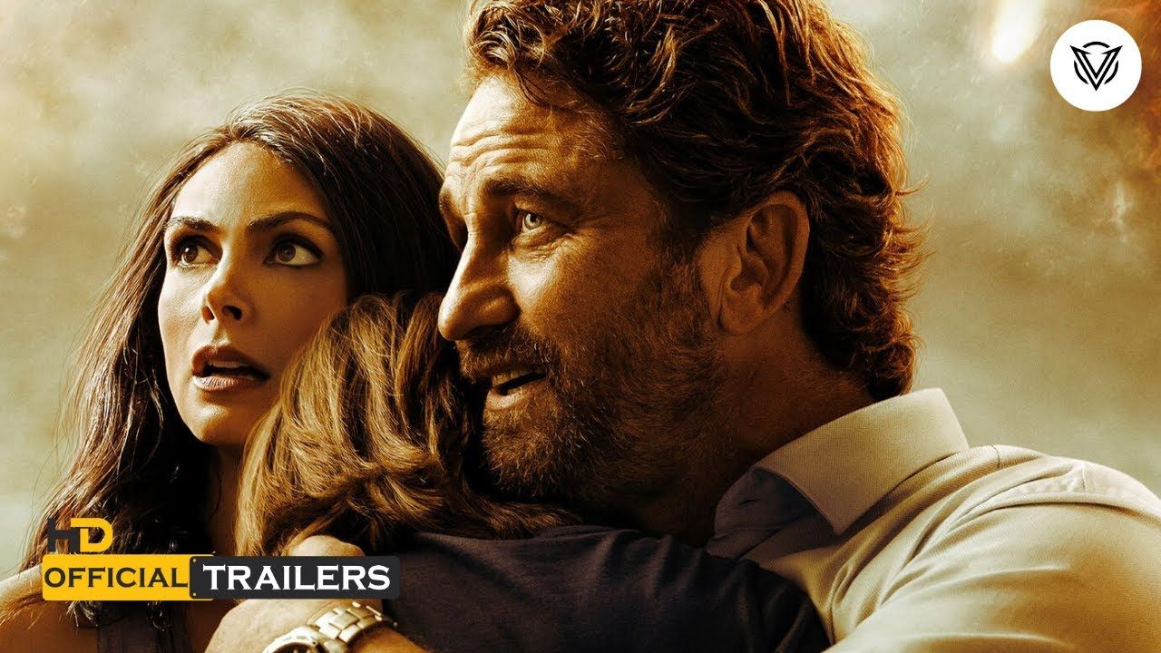 Greenland 2020 Official Action Thriller Movie Trailer Vague Movie Disaster Movie Gerard Butler Thriller Movie