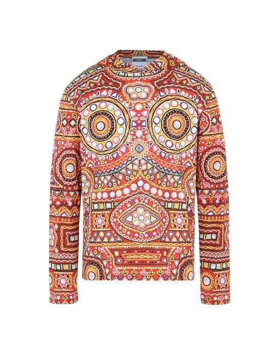 MOSCHINO Long-Sleeve-T-Shirt. #moschino #cloth #long-sleeve-t-shirt
