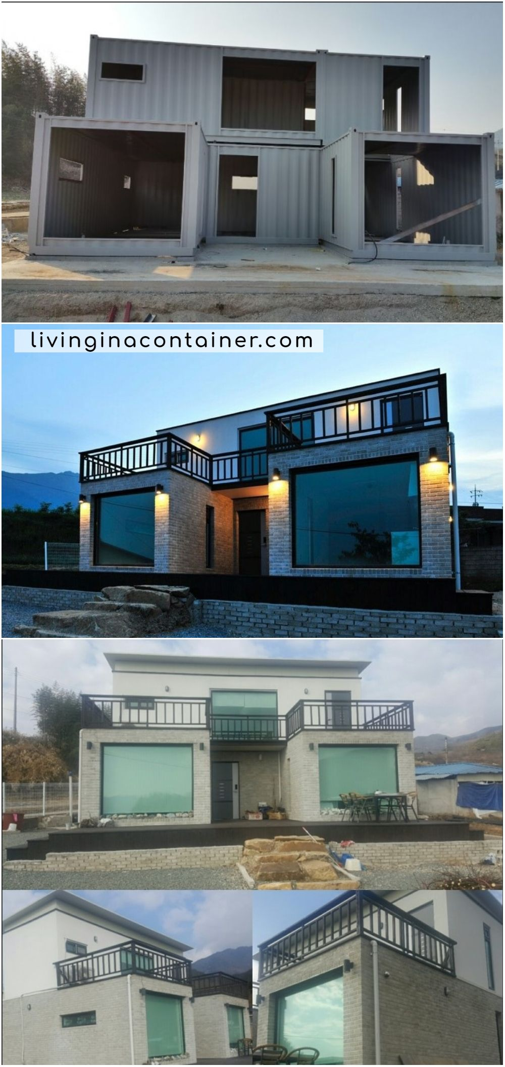 Luxury Container House Located South Korea