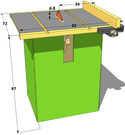 Awesome Homemade Table Saw Specifications Tools In 2019 Homemade Interior Design Ideas Inesswwsoteloinfo