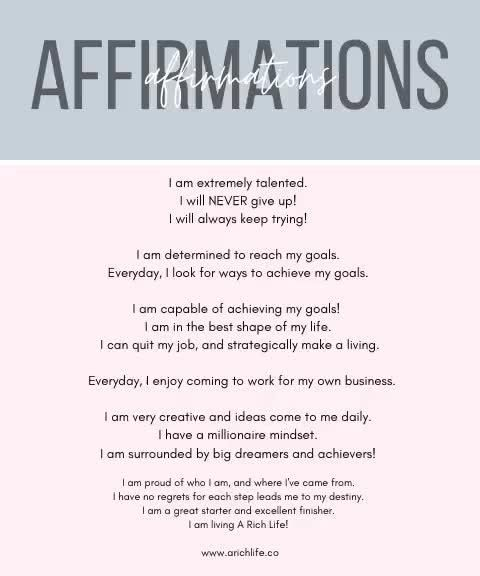 Affirmations for Creatives   Affirmations for Personal Growth   Top Podcast for Black Woman