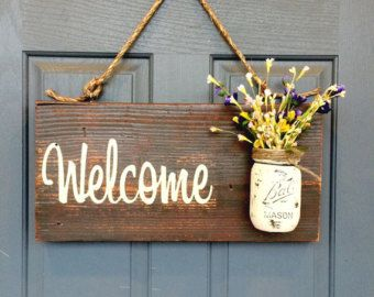 Wooden Signs Home Decor Amusing Outdoor Signs Home Decor Wooden Signs Rustic Signsredroansigns Decorating Inspiration