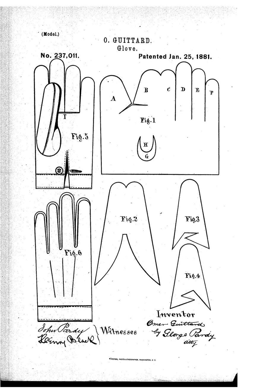Gloves Sewing Pattern : gloves, sewing, pattern, Image, Glove, Sewing, Pattern, Figswoodfiredbistro.com, Leather, Gloves, Pattern,