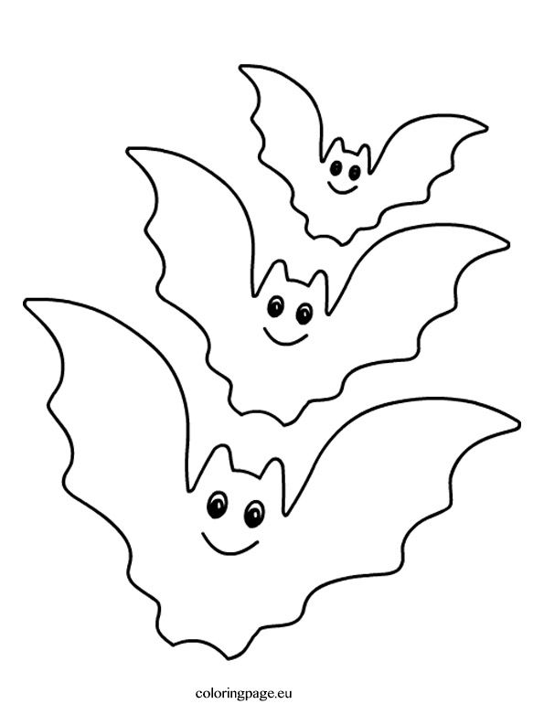 Kleurplaat Vleermuis Halloween.Kleurplaat Vleermuis Halloween Pyssel Halloween