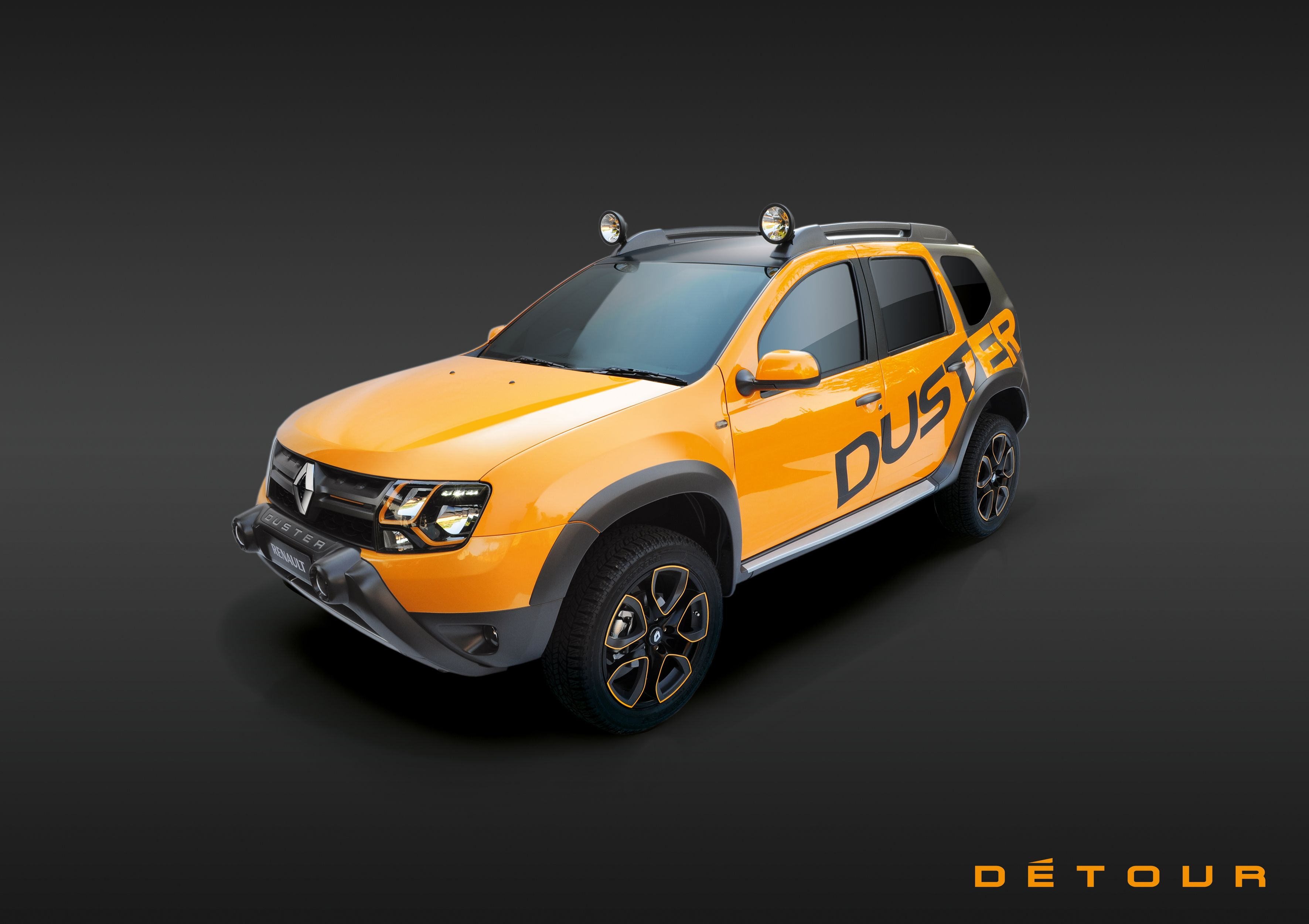 Renault Duster Detour Is The Fruit Of An Intense Collaborative Work Between Renault Design Central Europe And A Specialised South African Design Detoure Duster