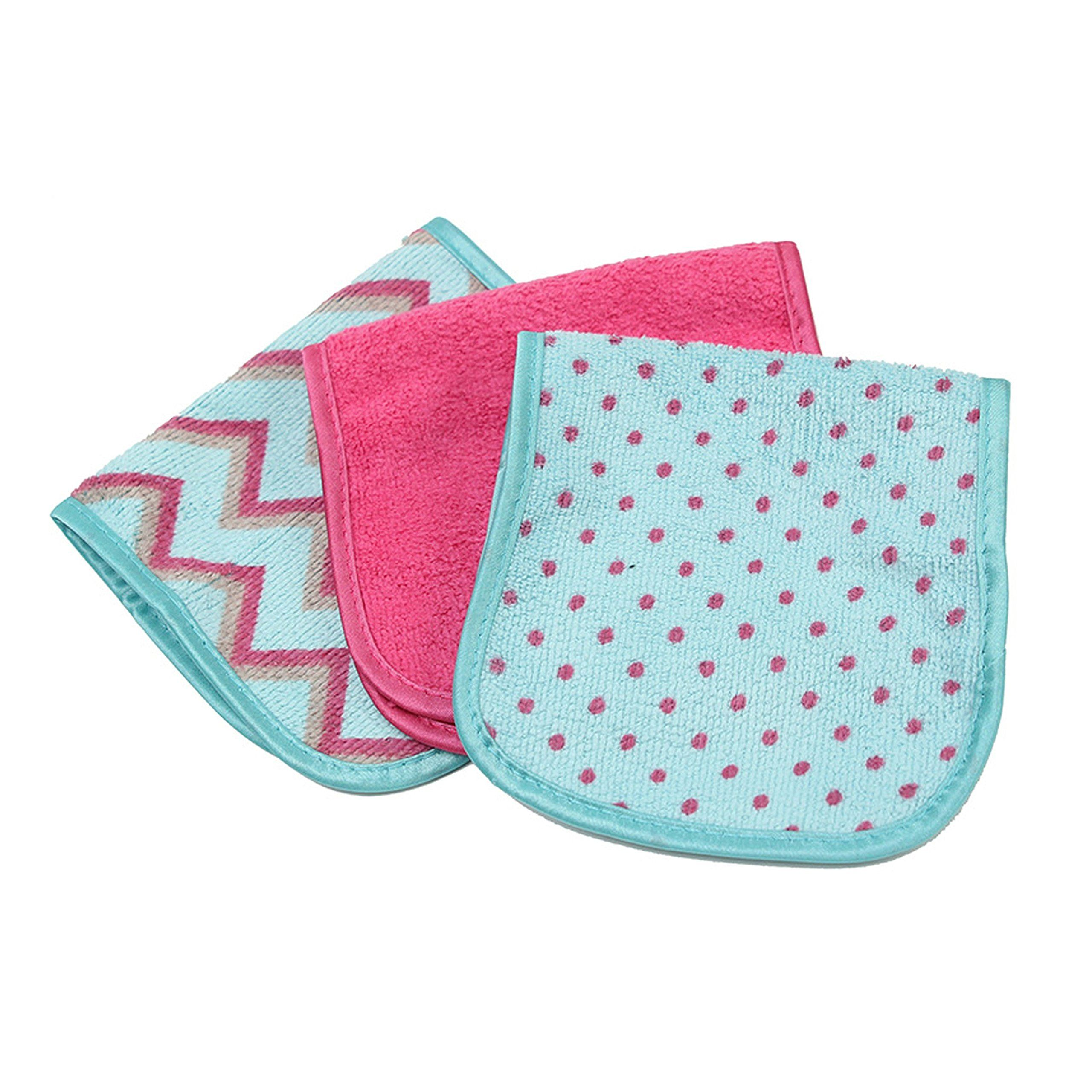 S and T Always Off Makeup Remover Cloths 3 Count Colors