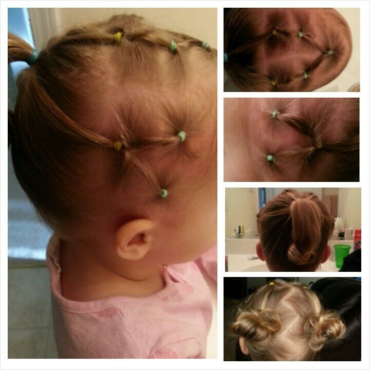 Easy hairstyles great for holding back those baby hairs