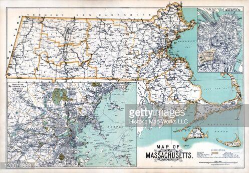 Image From Httpcacheassetcachenetgc - Massachusetts state map