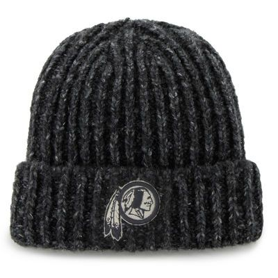 save off 7e028 52ed3 ... good mens washington redskins 47 brand charcoal westend cuffed knit hat  124d1 900c6