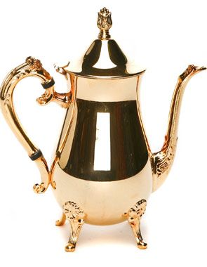 Gold Coffee Server
