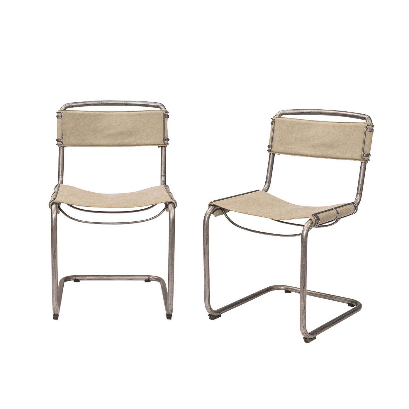Chair Design Basics Most Expensive Furniture And Decor For The Modern Lifestyle Decorative Things Go Chicly Back To With This Cool Casual Dining Delightfully Crafted From A Curved Stonewashed Metal Base Beige Canvas