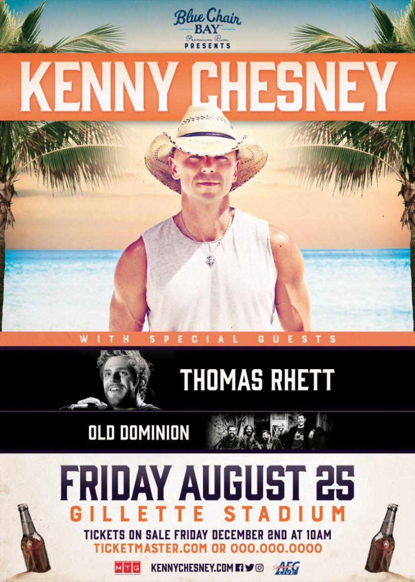 Kenny chesney announces foxborough show on 2017 at gillette stadium kenny chesney announces foxborough show on 2017 at gillette stadium kennychesney gillettestadium thomasrhettmusic olddominionband m4hsunfo