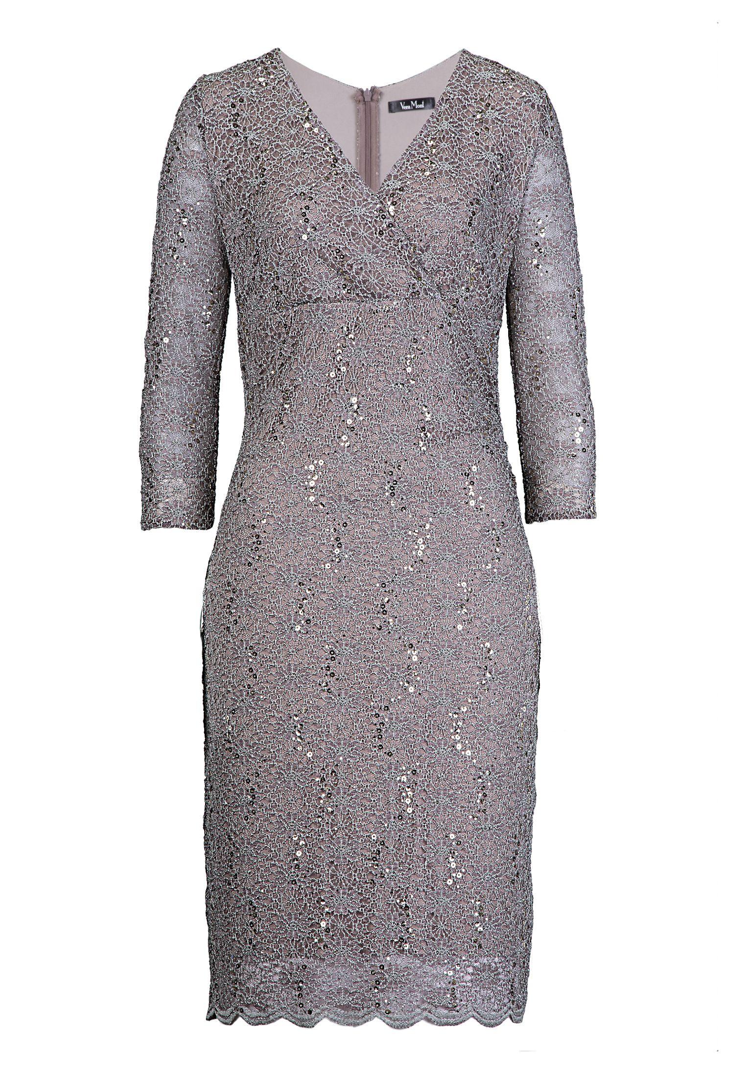 Elegantes Spitzenkleid die Brautmutter in creme von Vera Mont ...