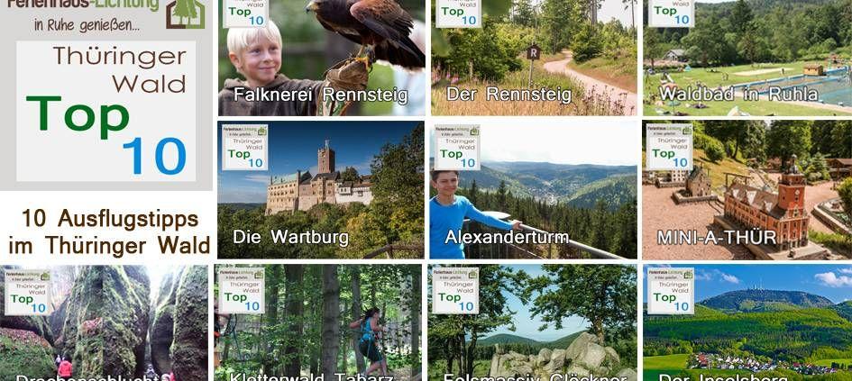 Top 10 Ausflugsziele Ausflug, Ferien, Ausflugsziele