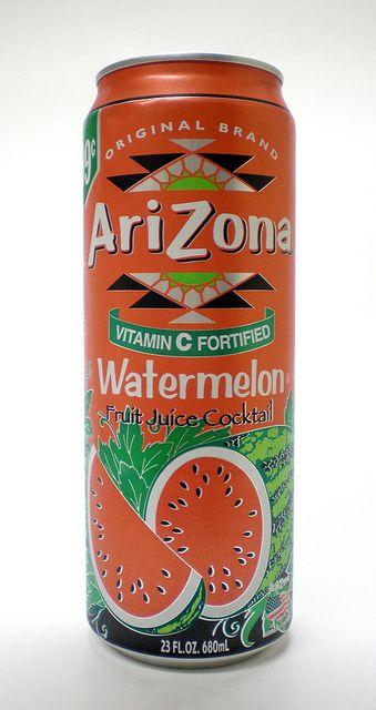 AriZona Watermelon Fruit Juice Cocktail 1 by TheFoodJunk, via Flickr