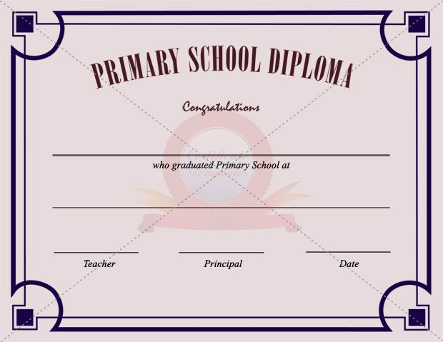 Primary school certificate template school certificate templates primary school certificate template yadclub Image collections