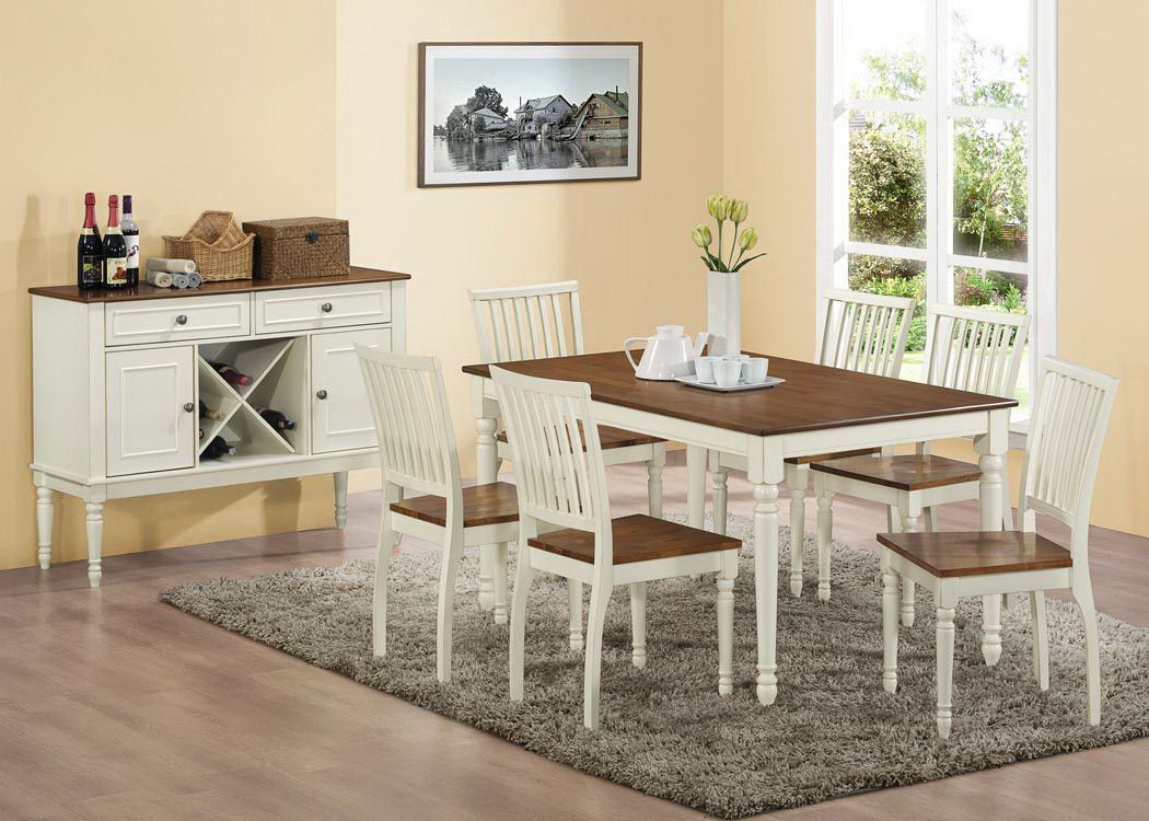 """Buy Dining Table  36"""" X 60""""  Antique White  Oak Veneer At Stunning 36 Dining Room Table Decorating Design"""
