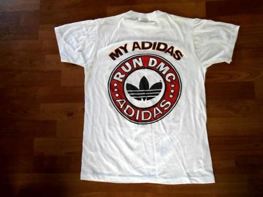 t shirt adidas run dmc