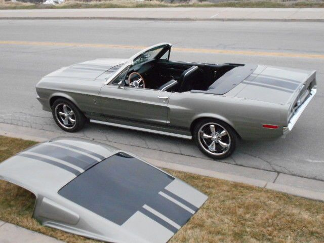 67 68 Shelby Mustang Convertible Roadster Eleanor Colors Removable Fastback Roof For Sale Photos Mustang Convertible Mustang Shelby Ford Mustang Convertible