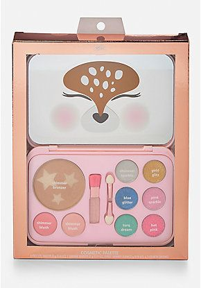 Deer Cosmetic Palette Makeup Kit For Kids Kids Makeup Fun Beauty Products
