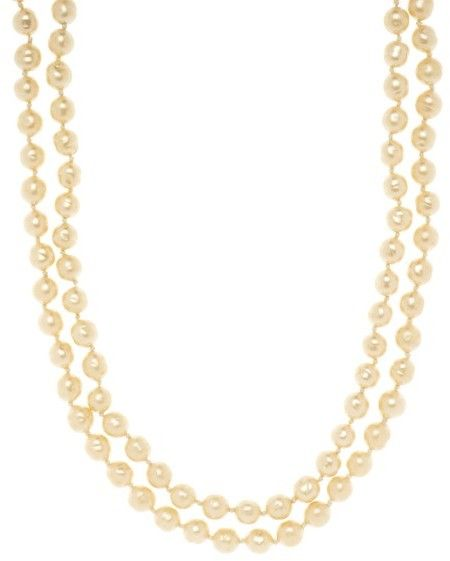 78bcc21ef2e7a Chanel Double Strand Pearl Necklace ($1125) // as seen on pia Mia in ...