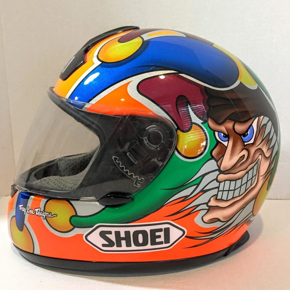 f0de286b Shoei RF-900 Full Face Motorcycle Helmet Joker Troy Lee Designs Size Medium  #Shoei #Motorcycle