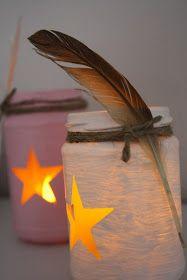 Herzideen: Easypeasy DIY Windlicht