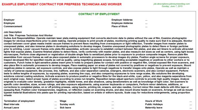 prepress technician resume examples http www resumecareer info