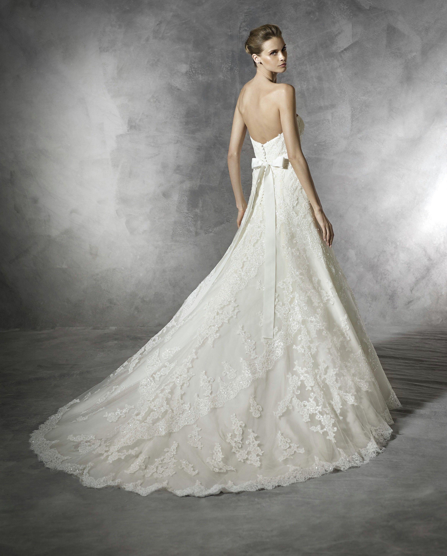 Basma   Pronovias   Available at LuLu\'s Bridal Boutique   Dallas ...