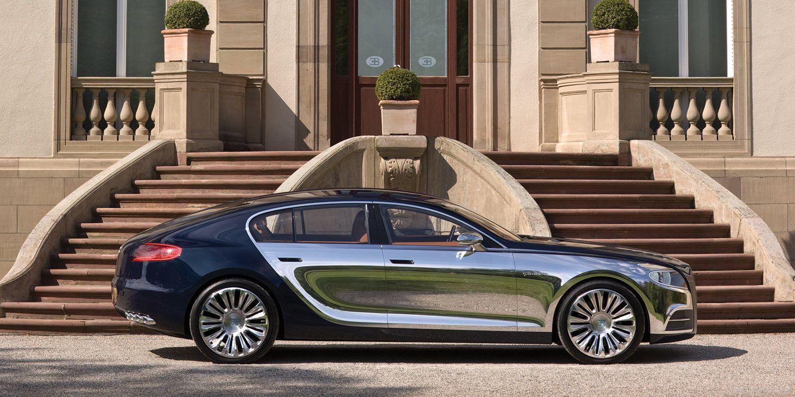 Ordinaire Bugatti 16 C Galibier Concept   2
