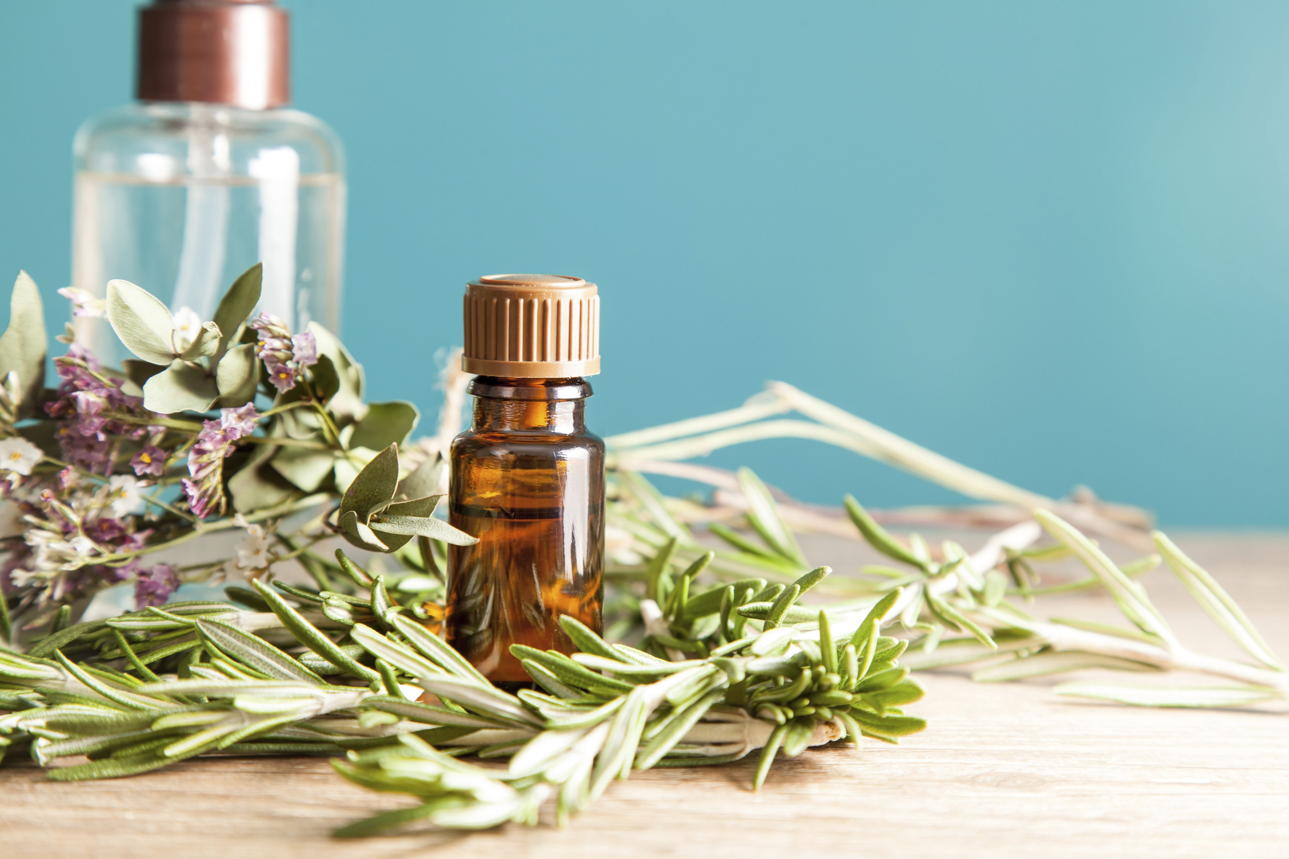 How to make natural rosemary heavy duty sink scrub at home #cleaning