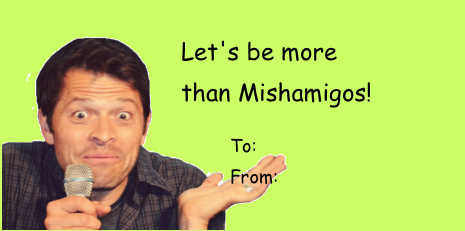A Collection Of Valentineu0027s Day Cards From The Supernatural Fandom.