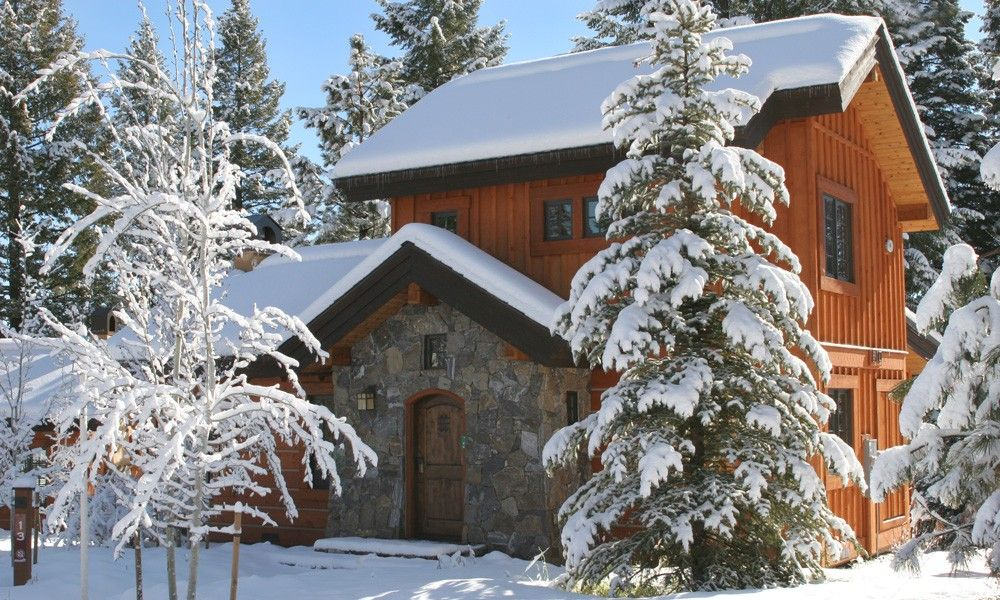 Beautiful winter getaway cabin - ahhhh....
