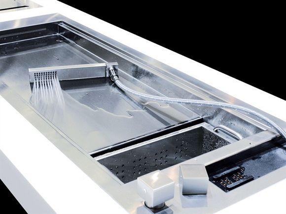 innovative spüle mit handbrause moderne küche   küche   pinterest - Innovative Küche